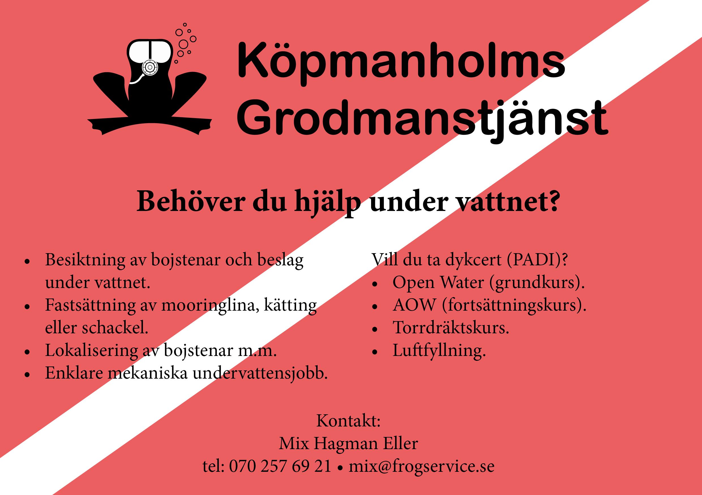 Köpmanholms Grodmanstjänst